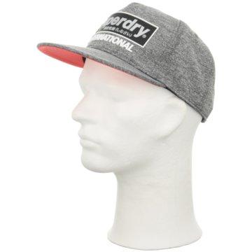 Superdry Caps Herren grau