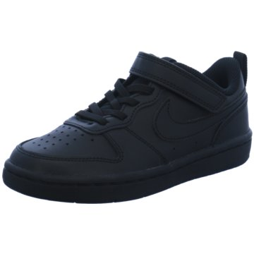 Nike Sneaker LowNike Court Borough Low 2 Little Kids' Shoe - BQ5451-001 schwarz
