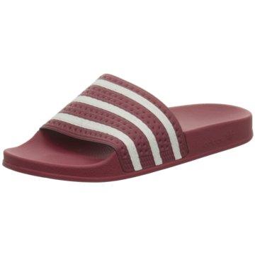 adidas Originals Badelatsche rot