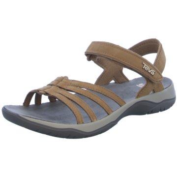 Teva Komfort Sandale braun