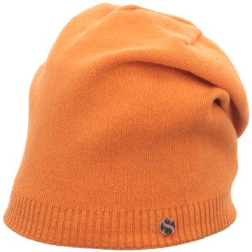 Seiden-Grohn Hüte, Mützen & Caps orange