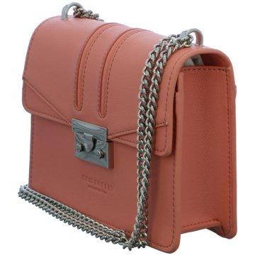 SEIDENFELT Taschen Damen rot
