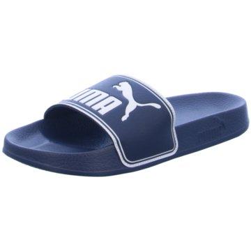 Puma Offene Schuhe blau