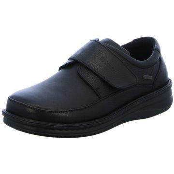 Grünwald Komfort Slipper schwarz