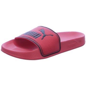 Puma Offene Schuhe rot