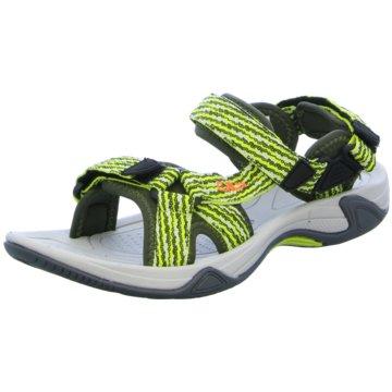 CMP F.lli Campagnolo Offene Schuhe grün