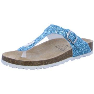 BIO POINT Offene Schuhe türkis