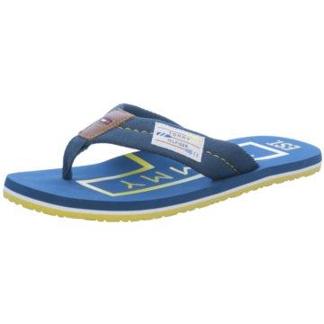 Tommy Hilfiger Bade-Zehentrenner blau
