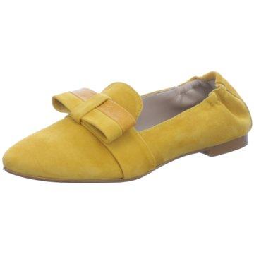 Gianluca Pisati Klassischer Slipper gelb