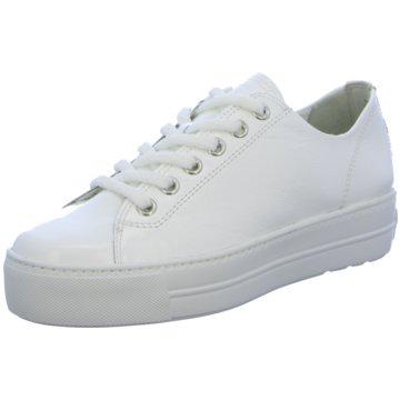Paul Green Plateau Sneaker4790 weiß
