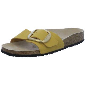 Birkenstock Top Trends PantolettenMadrid Big Buckle gelb
