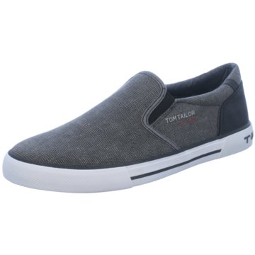 Tom Tailor Slipper grau