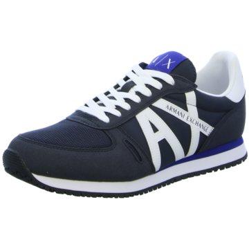 Giorgio Armani Sneaker Low blau