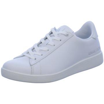 Giorgio Armani Sneaker Low weiß
