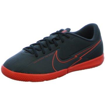 Nike Hallen-SohleNike Jr. Mercurial Vapor 13 Academy IC Little/Big Kids' Indoor/Court Soccer Shoe - AT8137-060 schwarz