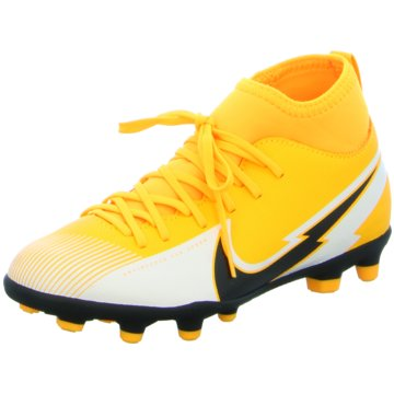 Nike Nocken-SohleNike Jr. Mercurial Superfly 7 Club MG Little/Big Kids' Multi-Ground Soccer Cleat - AT8150-801 gelb