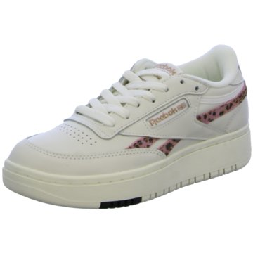 Reebok Hallen-SohleClub C Double Sneaker weiß