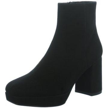 Unisa Klassische Stiefelette schwarz