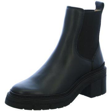 Unisa Chelsea Boot schwarz