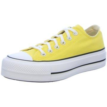 Converse Plateau Sneaker gelb