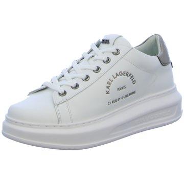 Karl Lagerfeld Sneaker World weiß