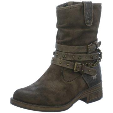 Mustang Boots braun