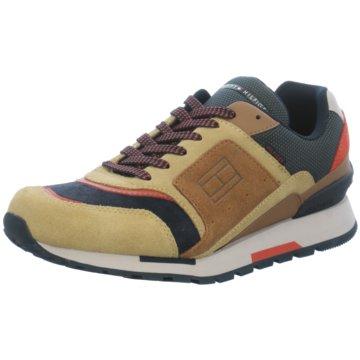 Tommy Hilfiger Sneaker Low braun