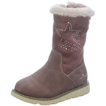 Tom Tailor Hoher Stiefel rosa