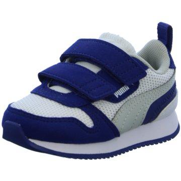 Puma Sneaker Low R78 V INF - 373618 blau