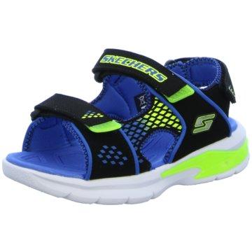 Skechers Offene Schuhe blau