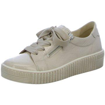 Gabor Sportlicher SchnürschuhSneaker beige
