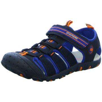Dockers by Gerli Offene Schuhe blau