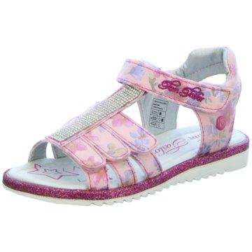 Tom Tailor Offene Schuhe rosa