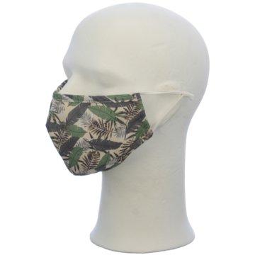 Seiden-Grohn Schutzmasken grün