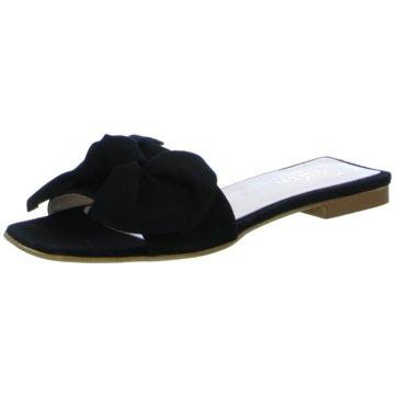 Lusar Klassische Pantolette schwarz