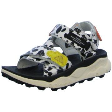 Flower Mountain Offene Schuhe weiß