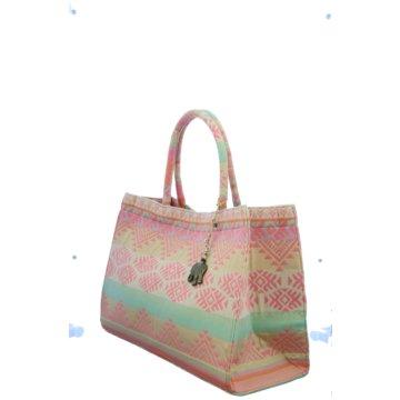 Anokhi Taschen Damen rosa