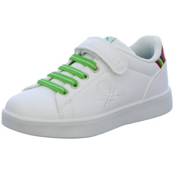 Benetton Sneaker Low weiß