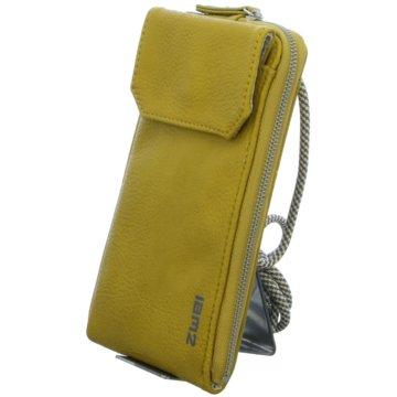 Zwei Taschen Damen gelb