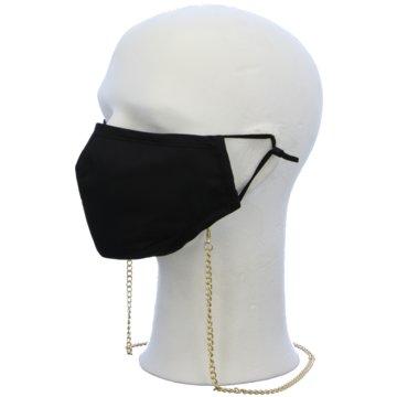 Seiden-Grohn Schutzmasken schwarz