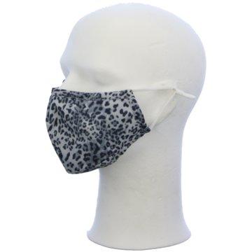 Seiden-Grohn Schutzmasken grau