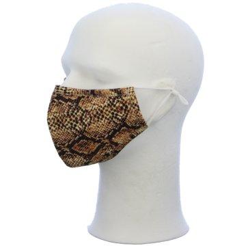 Seiden-Grohn Schutzmasken braun