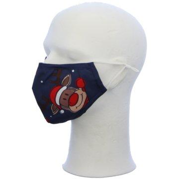 Seiden-Grohn Schutzmasken blau