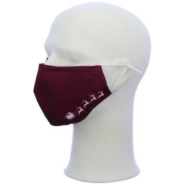Seiden-Grohn Schutzmasken rot