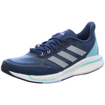 adidas RunningSupernova + blau