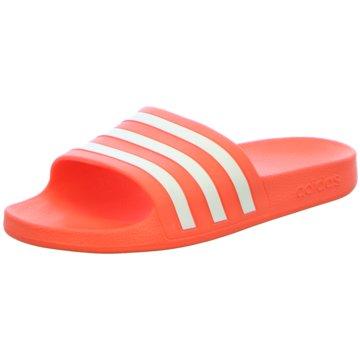 adidas BadelatscheAdilette Aqua orange