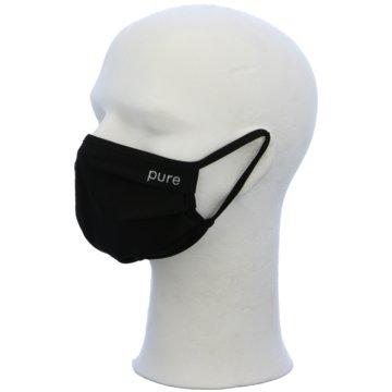 Pure Schutzmasken schwarz