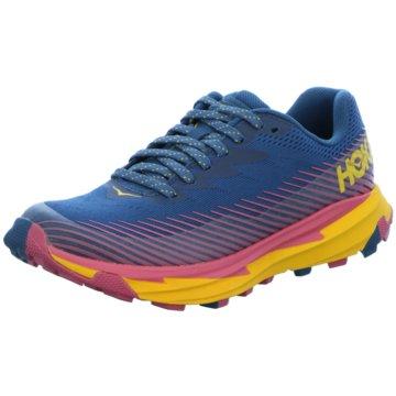 Hoka Running blau