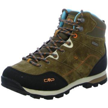 CMP Outdoor SchuhALCOR MID WMN TREKKING SHOE WP - 39Q4906 braun