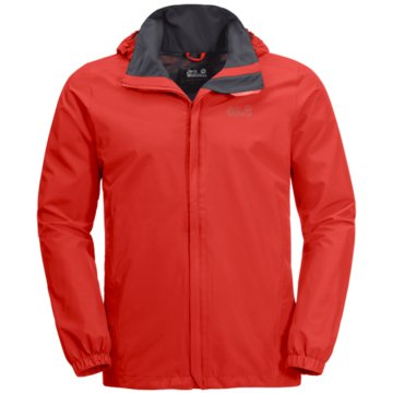 JACK WOLFSKIN FunktionsjackenSTORMY POINT JACKET M - 1111141 rot